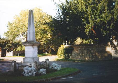 Fen Ditton War Memorial, Cambridge