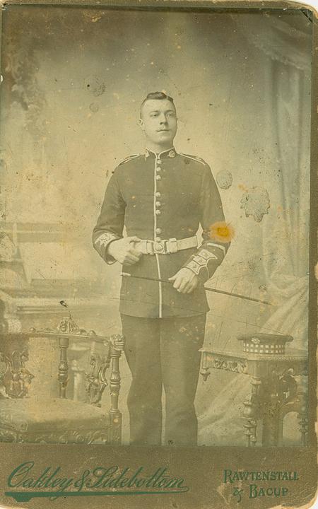 3083 Private George Caygill, Scots Guards