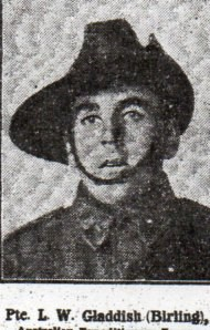 Profile picture for William Lewis Gladdish