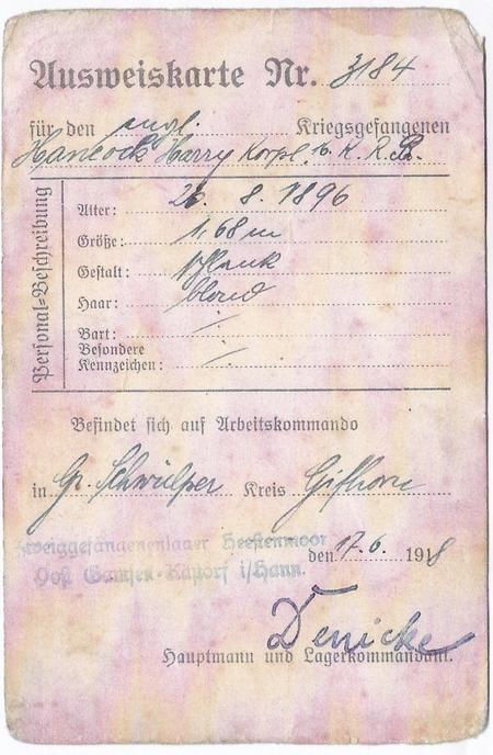 POW - ID Card