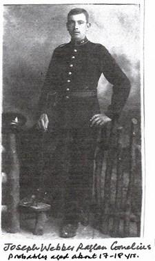 Profile picture for Joseph Webber Raglan Cornelius
