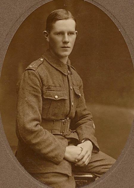 James in uniform