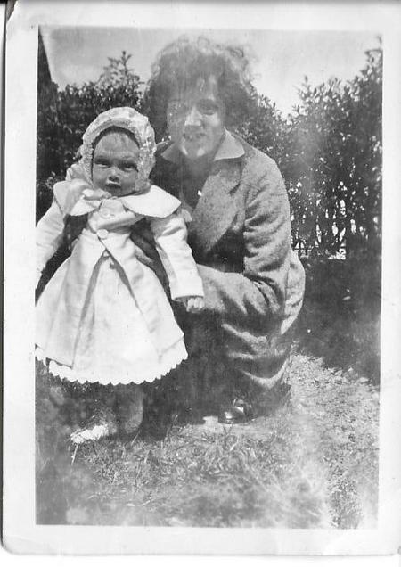 Dorothy Kelly as baby