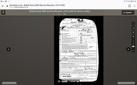 Enlistment documentation