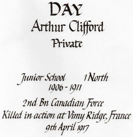 Cranleigh School Roll of Honour