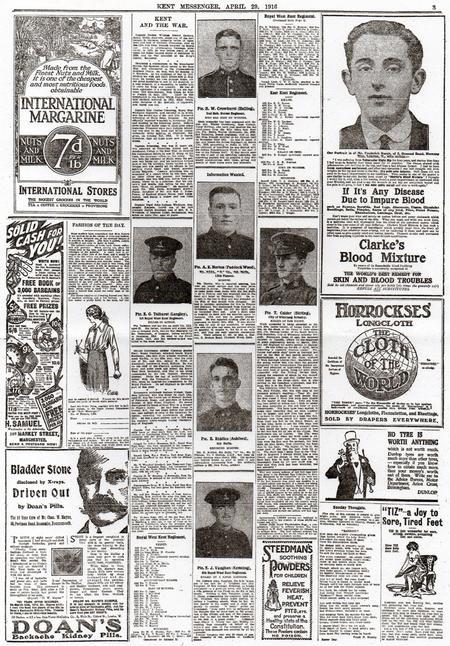 Kent Messenger April 29 1916