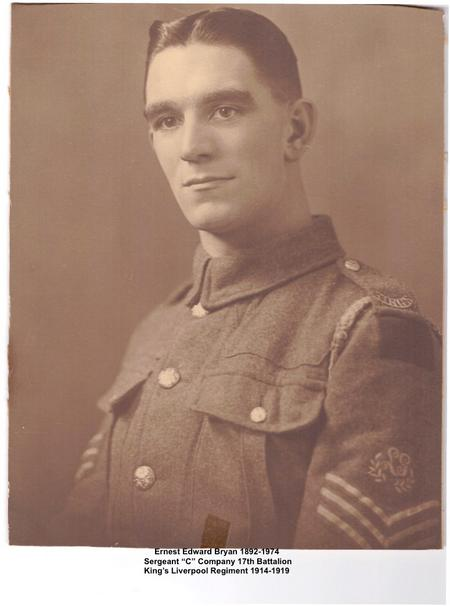 Profile picture for Ernest Edward Bryan