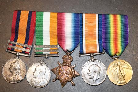 Harry Harris' medals