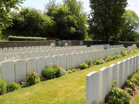 Guemappe British Cemetery, Wancourt, Pas de Calais