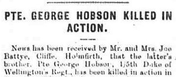 Profile picture for George Hobson