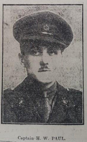 Profile picture for Horatio Wilmot Paul