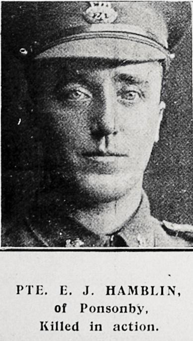 Profile picture for Ernest James Hamblin