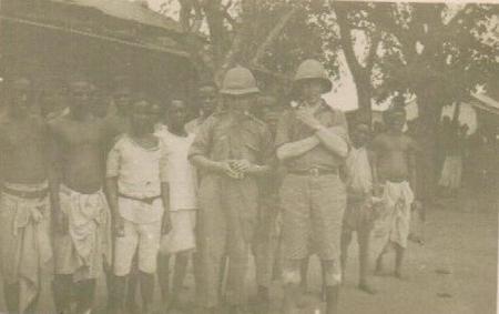 Lt. McWhirter & B. Galbraith, Chimbue, Zambezi R.