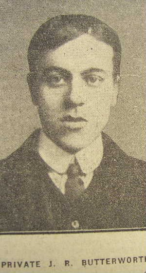 Profile picture for John Robert Butterworth