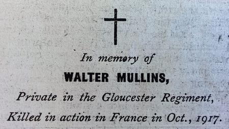 Walter Mullins - In Memoriam