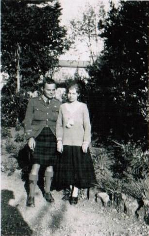 Barry Galbraith - Nan Whitehead marriage