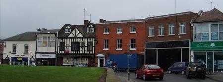 Church Street, Wellington, Shropshire in 2012
