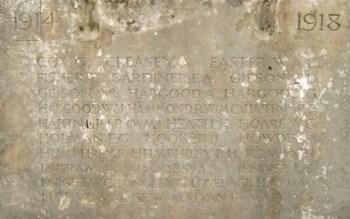 Oxted War Memorial
