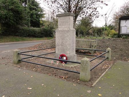 Stanhoe War Memorial Norfolk