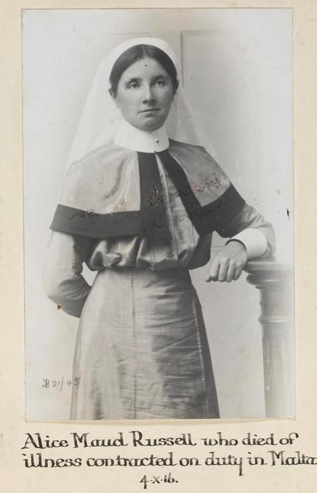 Profile picture for Alice Maud Russell