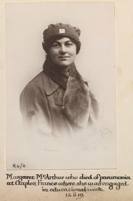 Profile picture for Marguerite Maude Mcarthur