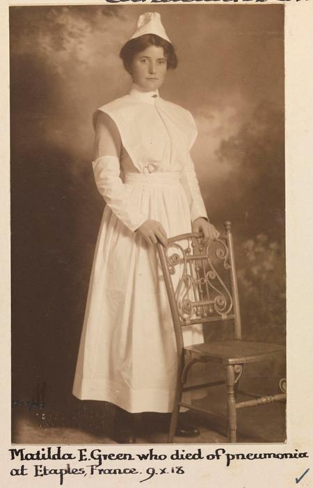 Profile picture for Matilda Ethel Green
