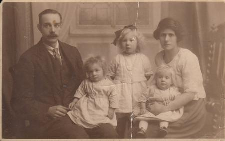 Jack and Beatrice Hambly and daughters
