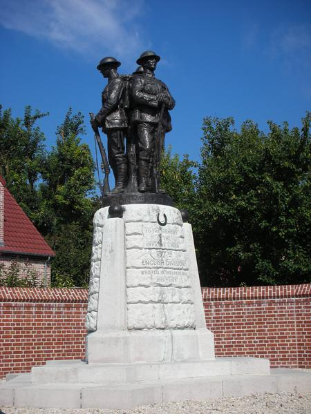 Monument to 37th Division.