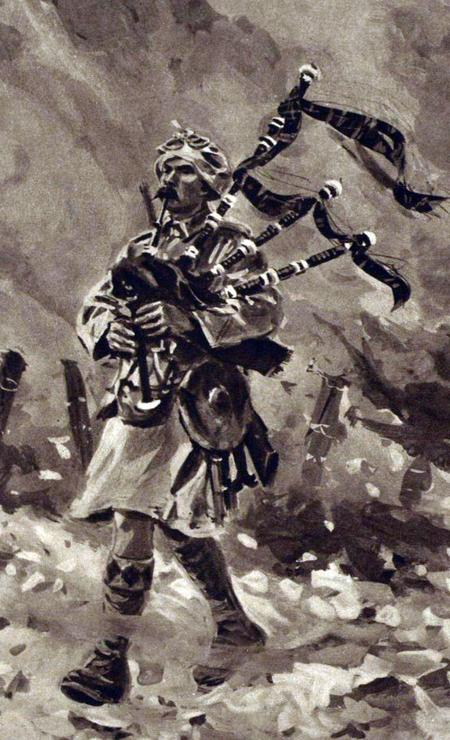 How Piper Laidlaw Won the Victoria Cross at Loos: