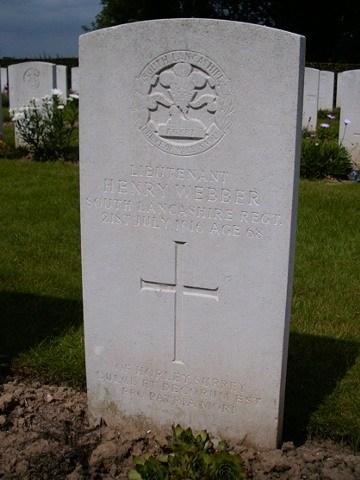 Grave - Henry Webber