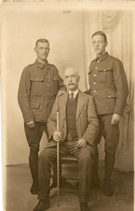 My grandfather on the right