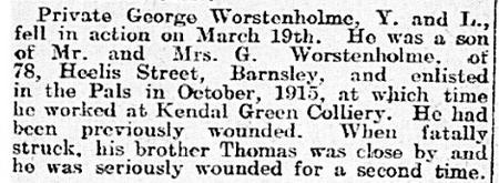 Barnsley Chronicle 21 April 1917