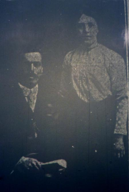 Photo of William Hoggard and his wife