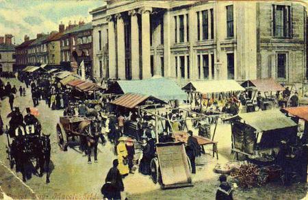 Macclesfield market
