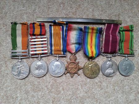Great Grandad's medals
