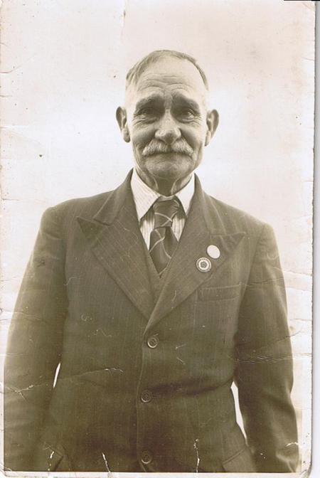 Great Grandad Bertie John