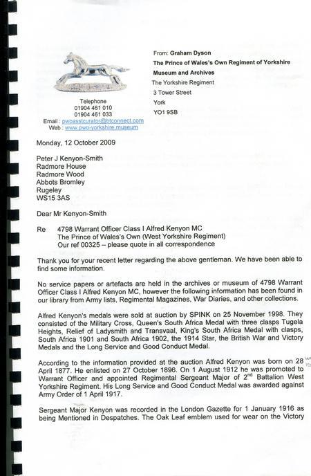 WYR Archivist letter p1