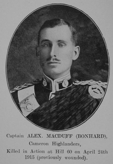 Profile picture for Alexander Macduff