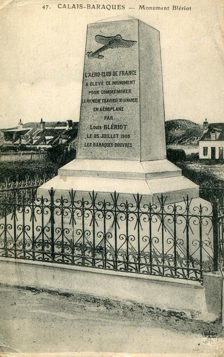 Post Card of Louis Bleriot Monument