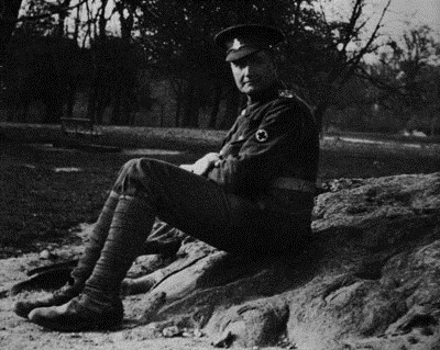 Vaughan Williams in the army, 1915