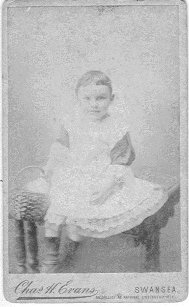 David Isaac Griffiths Age 2