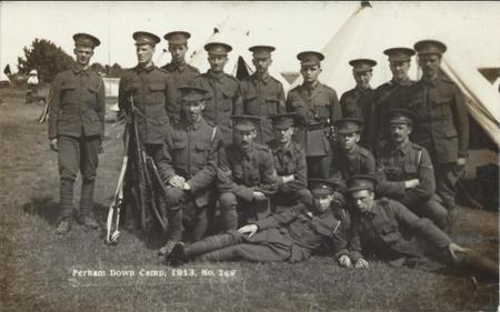 QVRs at Perham Camp August 1913