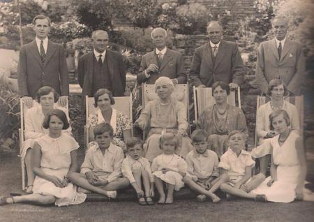 The Goddard Family in 1932