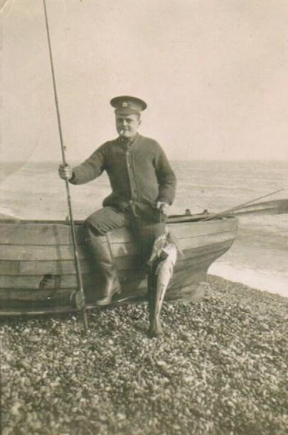 Barry Franklin Galbraith fishing