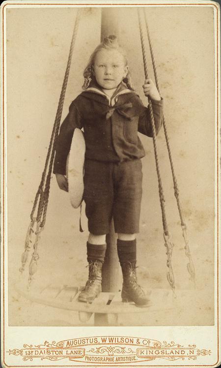 John Septimus Millachip as a child