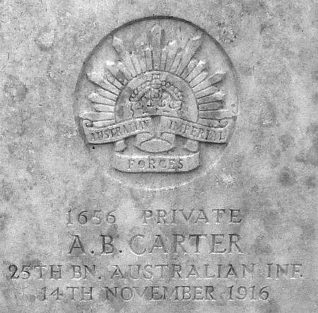 Profile picture for Arthur Bertie Carter