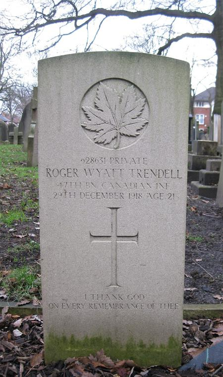 Profile picture for Roger Wyatt Trendell