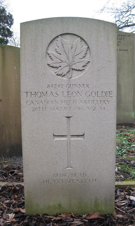 Profile picture for Thomas Leon Goldie