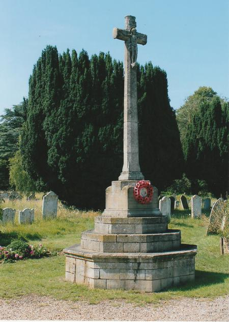Stoke by Nayland War Memorial, Suffolk
