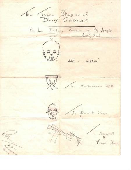 Barry Galbraith cartoon, Fort Johnston(e), Africa